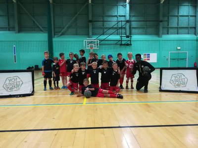 ramsgate youth fc kent football skills coaching in king ethelberts sports hall birchington kent